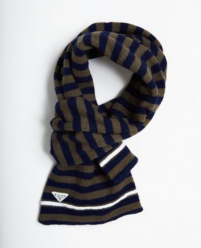 Gestreepte sjaal 7-14 jaar